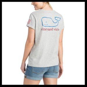 Vineyard Vines Pocket Tee w/ Graphic Back